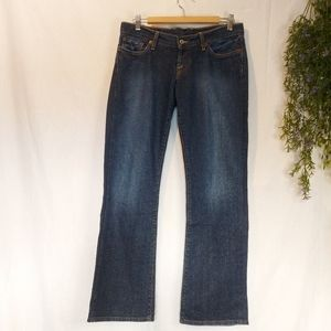 LUCKY BRAND DUNGAREES ♡ Ladies Jeans